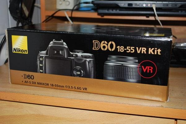 Nikon D60 15-55mm VR Kit