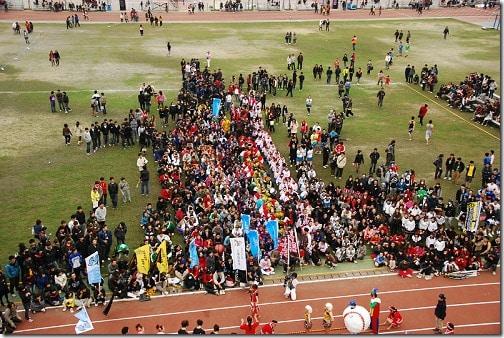 2011年 朝陽科技大學17周年校慶 (創意啦啦隊競賽)