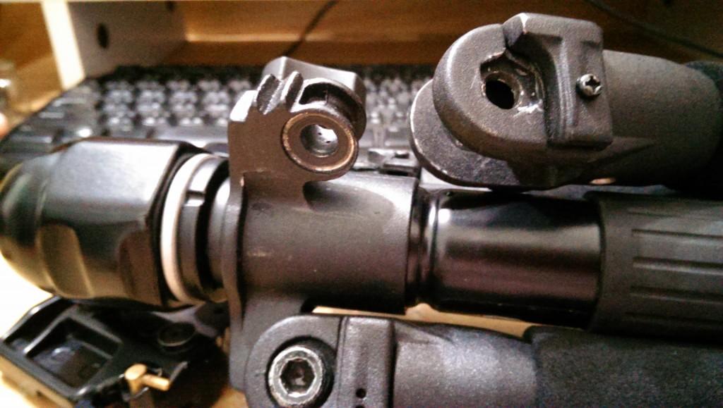【Takara三腳架】第一次修理 Takara TMK-244B 腳架就上手