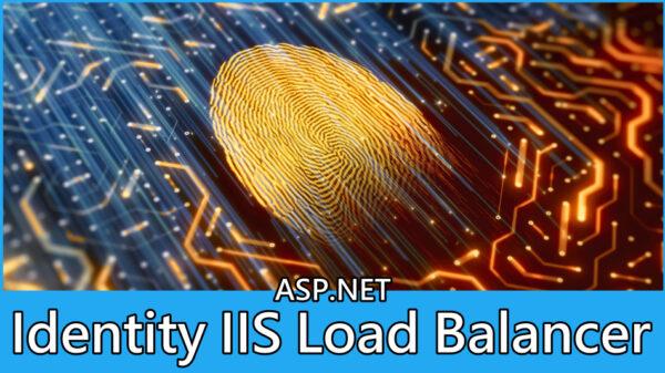 ASP.NET Identity IIS Load Balancer