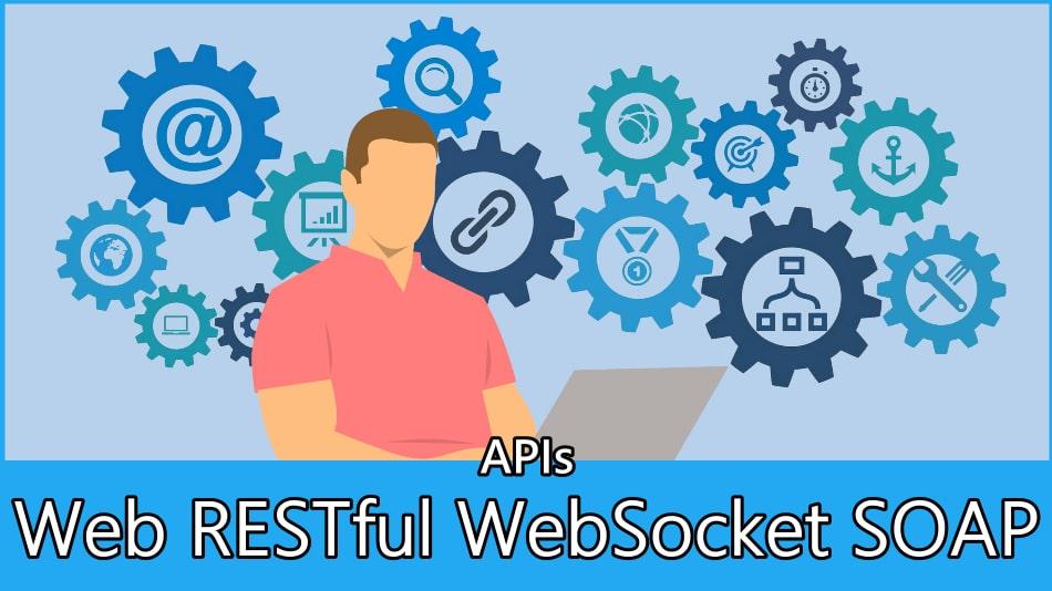 Web API vs RESTful API vs WebSocket vs SOAP